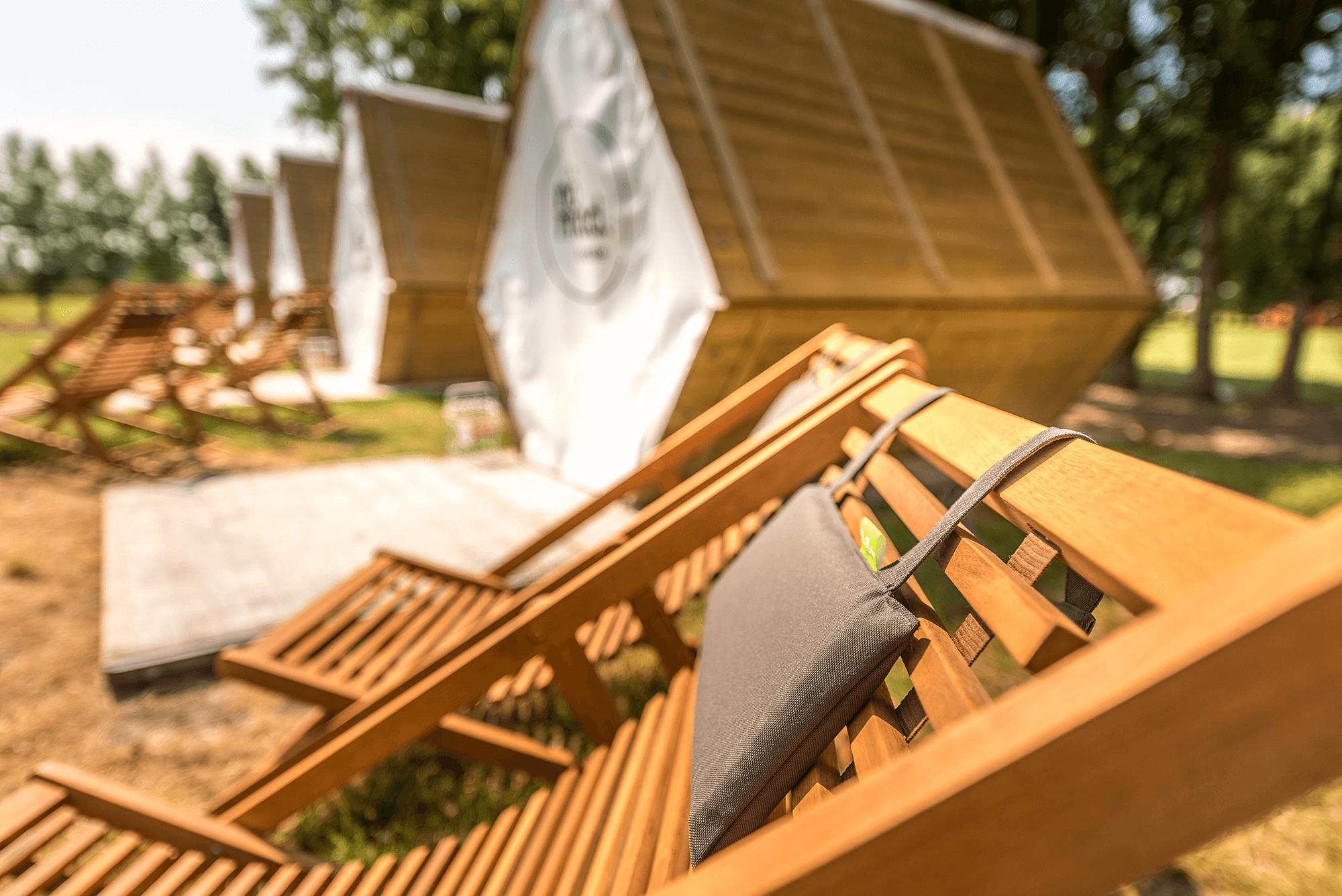 Sfeerbeeld camping Nômad Knokke